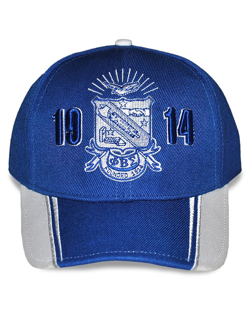 Phi Beta Sigma Shield Cap - Royal