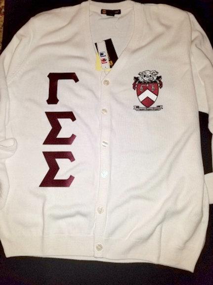 Gamma Sigma Sigma Cardigan Sweater