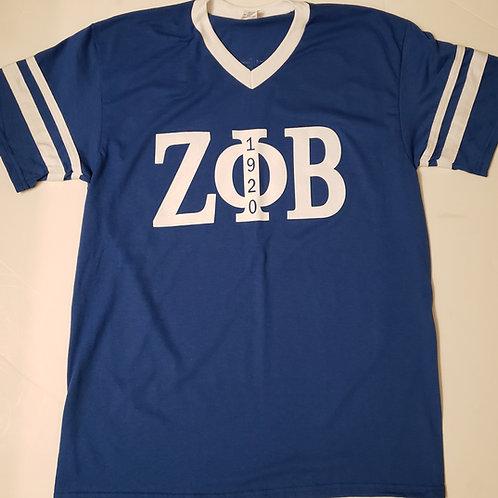 Zeta Phi Beta Sleeve Stripe Shirt