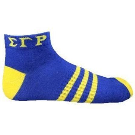 Sigma Gamma Rho Ankle Socks