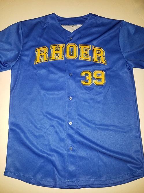 Rhoer Baseball Jersey