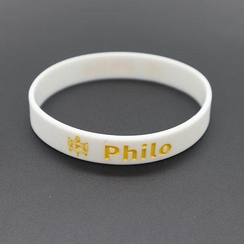 Philo Silicone Bracelet