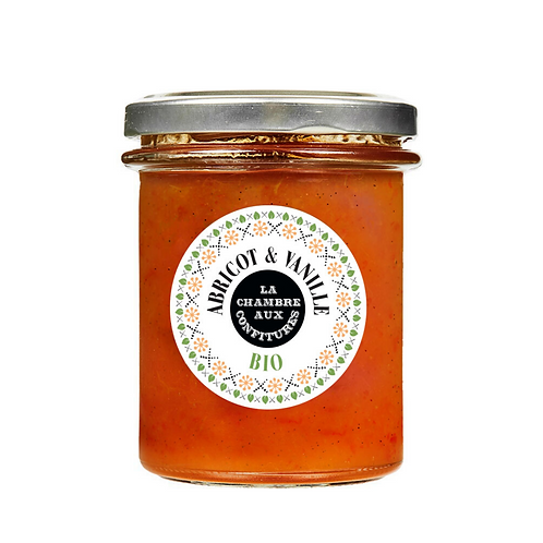 Confiture Abricot & Vanille Bio - CONF000007