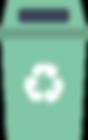 2_Poubelle_verte,végétaux_matériaux_recy