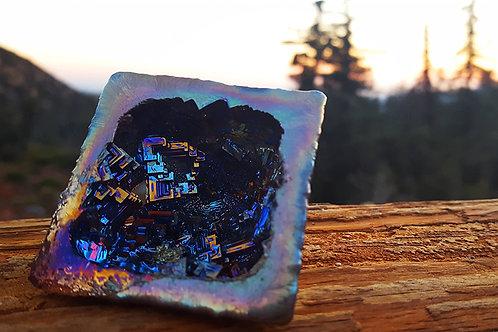 Octahedron Bismuth Geode