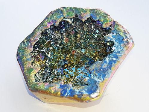 "Bismuth Icosahedron Geode - ""Ninjastar"""