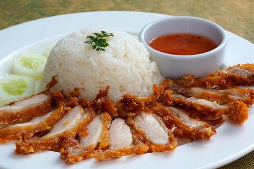 8.1) Khao Man Gai Todd