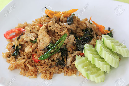 3.2) Basil Fried Rice