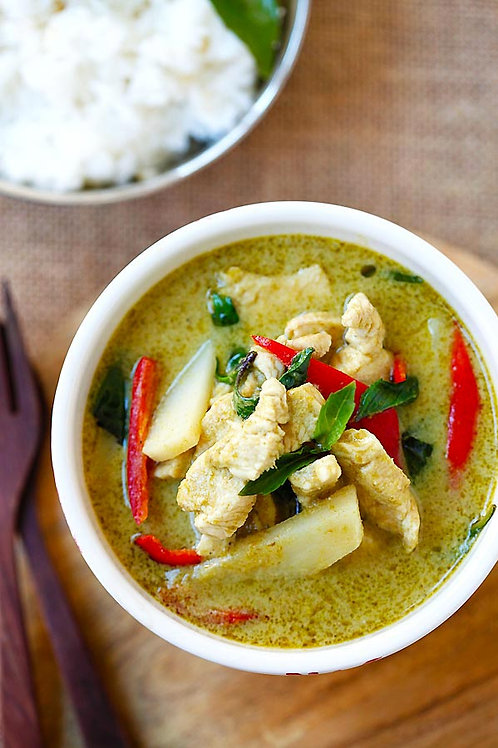 5.3) Green Curry