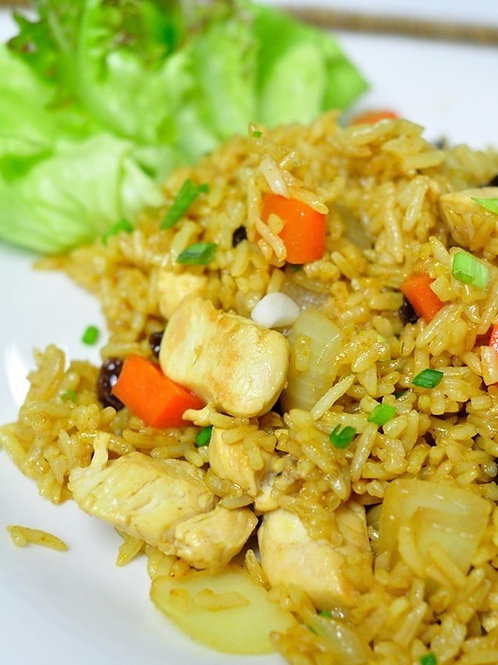 3.4) Curry Fried Rice