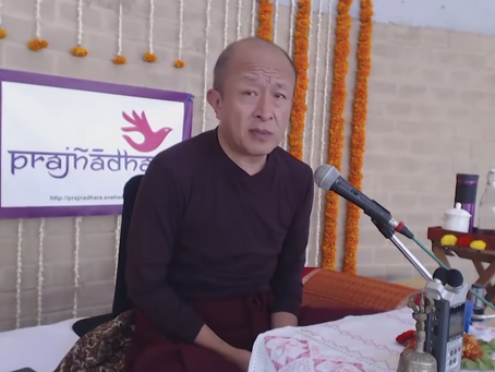 Percibir la verdadera naturaleza de la realidad, Dzongsar Khyentse Rinpoche