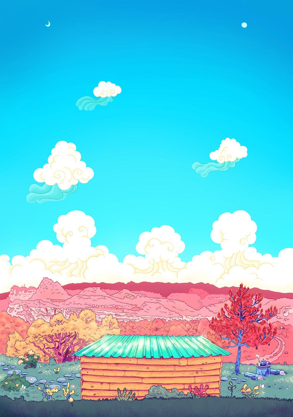 Ilustración de VIVEKA