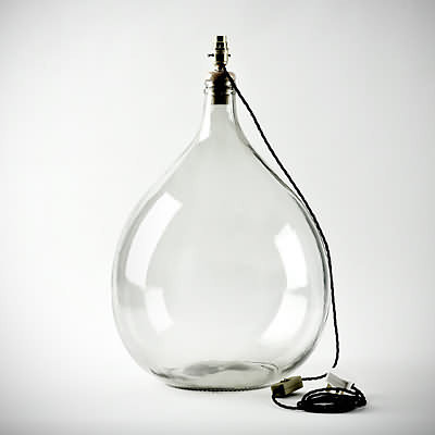 The Little Shed - Home | Clear Glass Lamp Base
