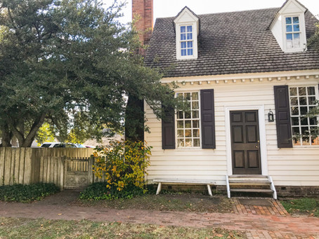 Favorite Places and Spaces Vol. One: Williamsburg, VA