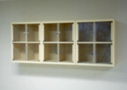 RELDOM C-Thru Door Wall Cabinet