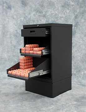 RELDOM Stackble Chip Bin Cabinet