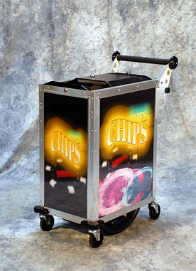 RELDOM Large Chip Cart