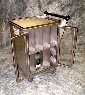 RELDOM Compartment Utility Cart