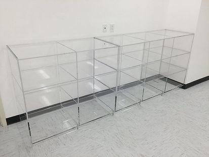 RELDOM Open Acrylic Cabinet