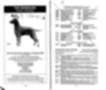 Curly Coated Retrievers Crufts 1991 Catalogue Page One
