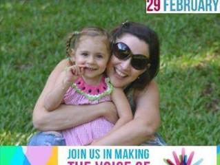 """Dia das Doenças Raras (Rare Disease Day) - relato da mãe de uma menina """"rara"""""""