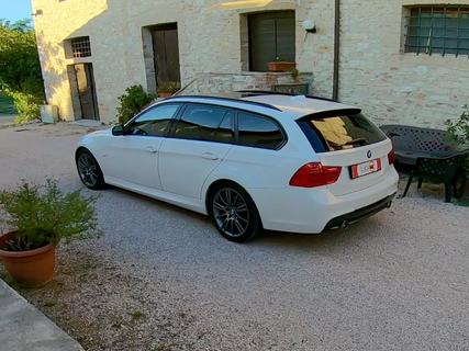 Test Drive BMW 20D Touring MSport 2014