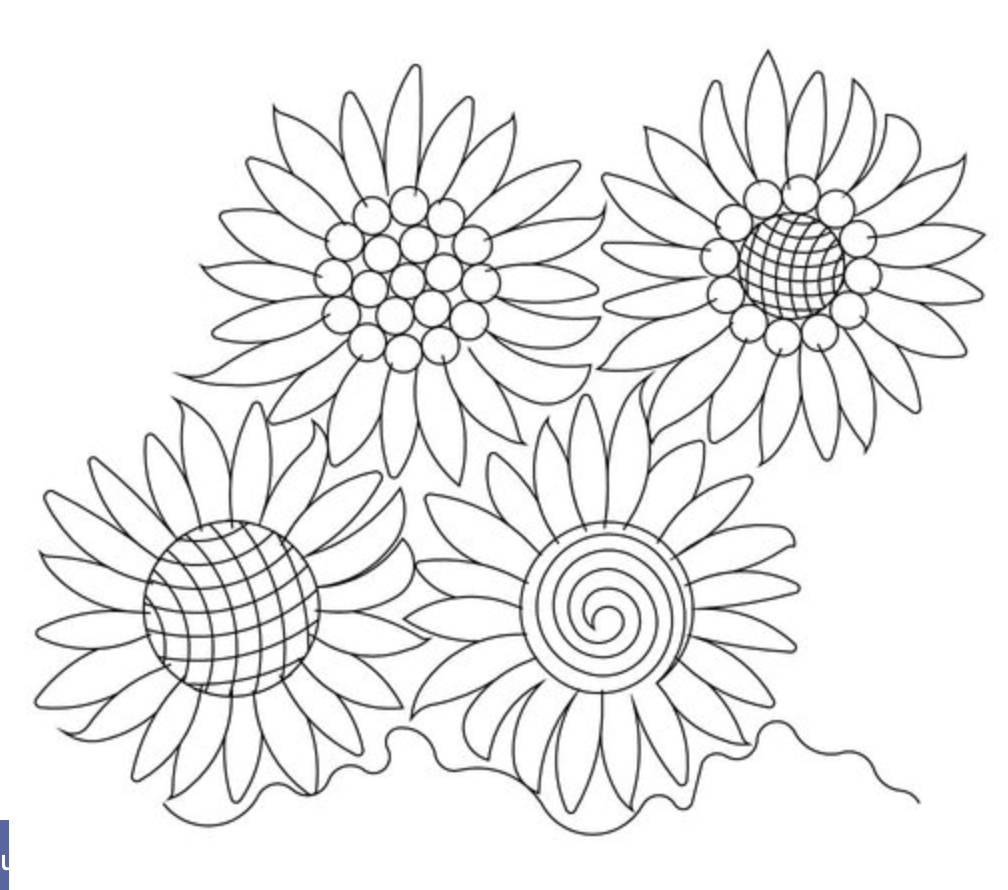 Sunflower E2E-Wasatch Quilting