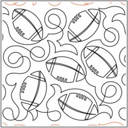 Deb's Footballs by Deb Geissler (Urban E
