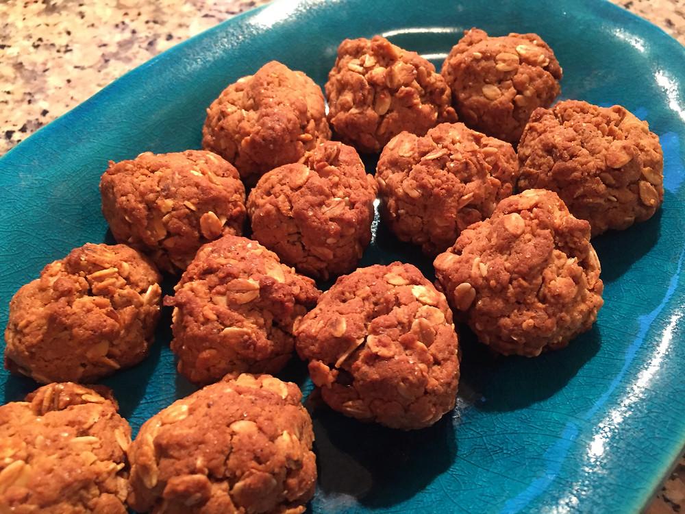 עוגיות גרנולה משאריות גרנולה דיאטטיות כל עוגיה 60 קלוריות