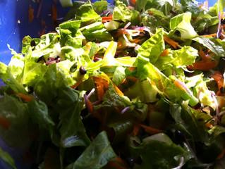 סלט ירקות  בלי עגבניות