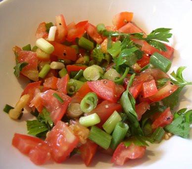 סלט עגבניות דיאטטי של אהרוני