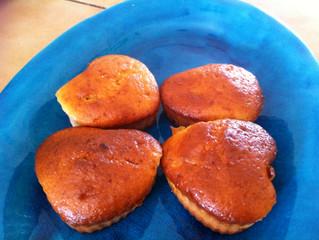 עוגת בננות וגבינה ללא שומן נוסף (20 מנות, כל מנה כ- 135 קלוריות)