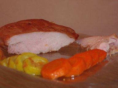 חזה עוף שלם אפוי בתנור בטעם פסטרמה