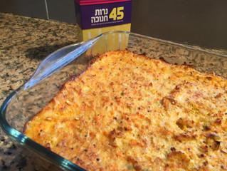 פשטידת כרובית ושאר ירקות דיאטטית (כ- 20 מנות, כל מנה כ- 50 קלוריות)