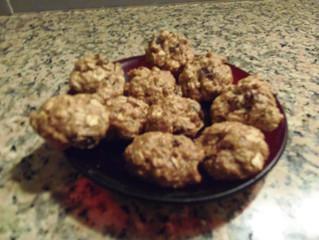 עוגיות קוואקר (שיבולת שועל) דלות שומן (כ- 40 עוגיות, כל עוגיה כ-  50 קלוריות)