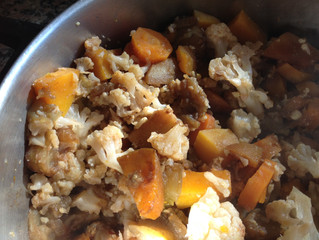 תבשיל ירקות חורפיים דיאטטיים בטעם קצת אחר