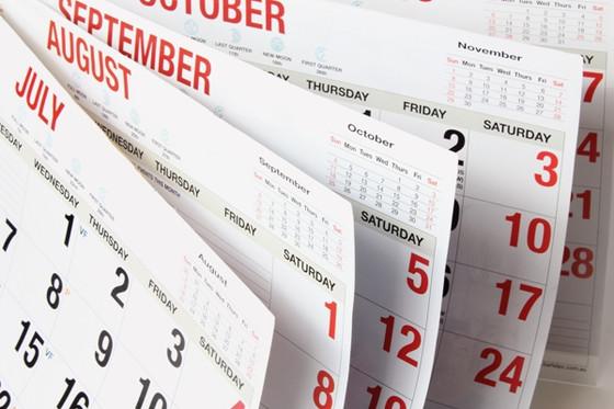 August, Anniversaries, & Accomplishments