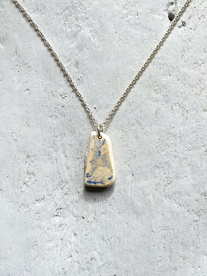 Double Sided Pottery Necklace