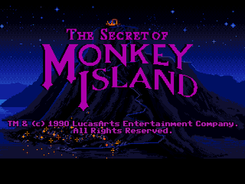 'The Secret Of Monkey Island' (1990) Dev. Lucasfilm Games