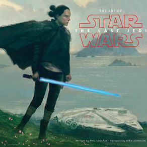 Review: 'The Art of Star Wars: The Last Jedi' (2017) Aut. Phil Szostak