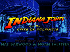 Game: 'Indiana Jones and the Fate Of Atlantis' (1992) Dev. LucasArts