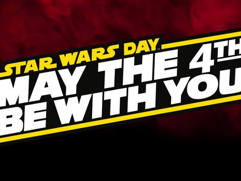 News: May the 4th be with you!