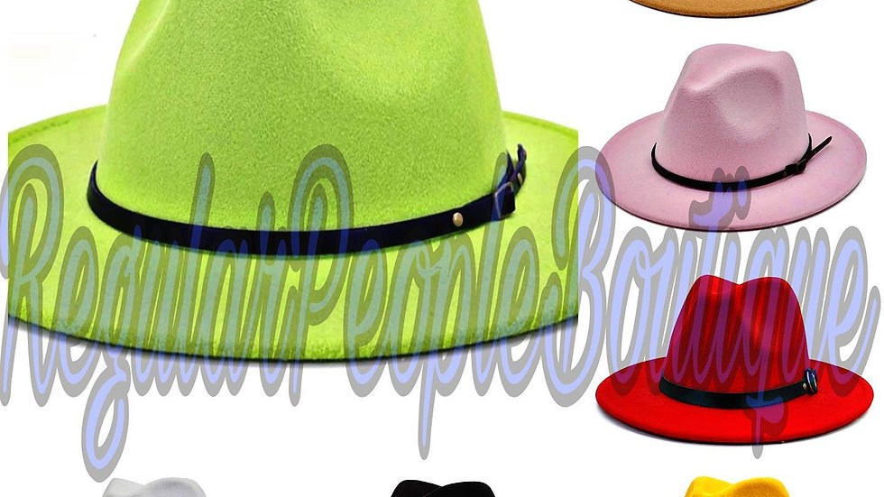 RegularPeopleBoutique Fedora Hats