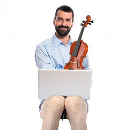 MUSICIANS ON SKYPE SESSION ALL NAKED FROM THE WAIST DOWN
