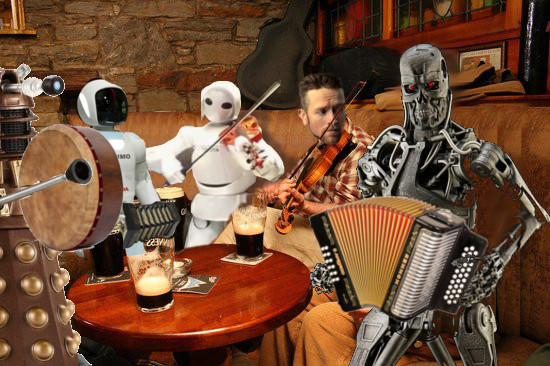 LOCAL SESSION LEADER WORRIED ROBOTS WILL TAKE HIS GIG
