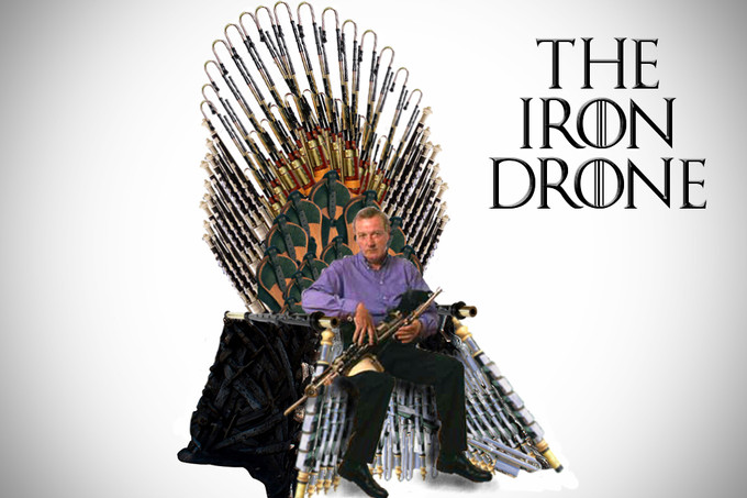 NPU INTRODUCE NEW PIPER'S CHAIR: 'THE IRON DRONE'