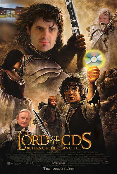 The Lord of the CDs: The Return of the Dean of UL