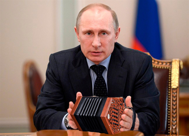 """""""THEY WERE SUPPOSED TO BE IN EAST CLARE"""", SAYS PUTIN"""
