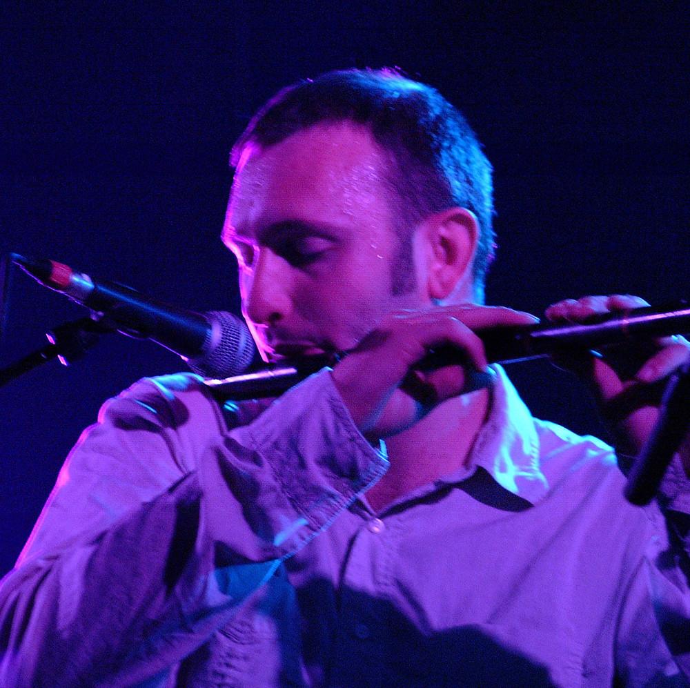 Flute player Mike McGoldrick