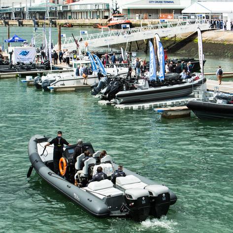 Miami Boat show public demo